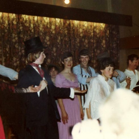 Some of the Revue Society in Oliver