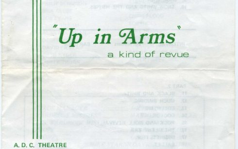 Robert Sayle Drama Group - Up in Arms at the ADC Theatre 1972