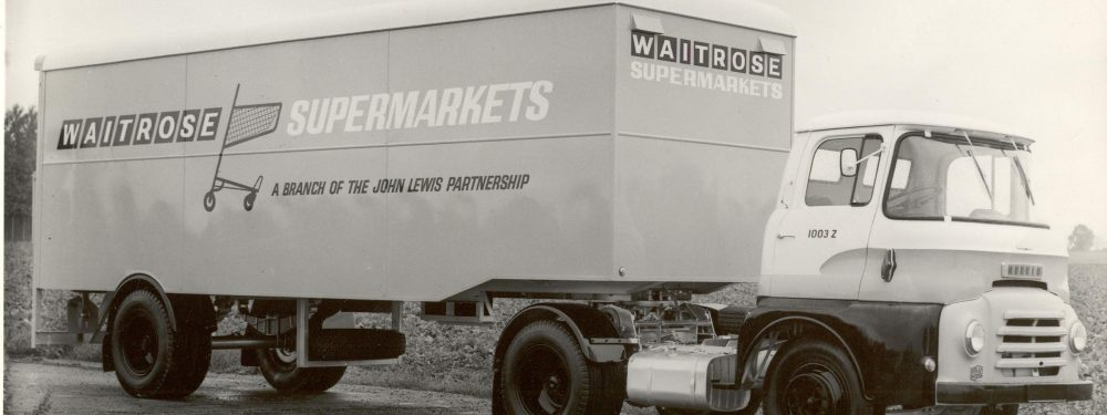 Waitrose Livery Lorry 1963