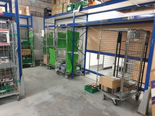 Ambient (dry goods) cages