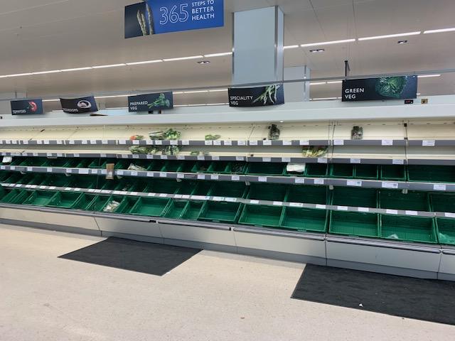 Fruit & vegetables aisle