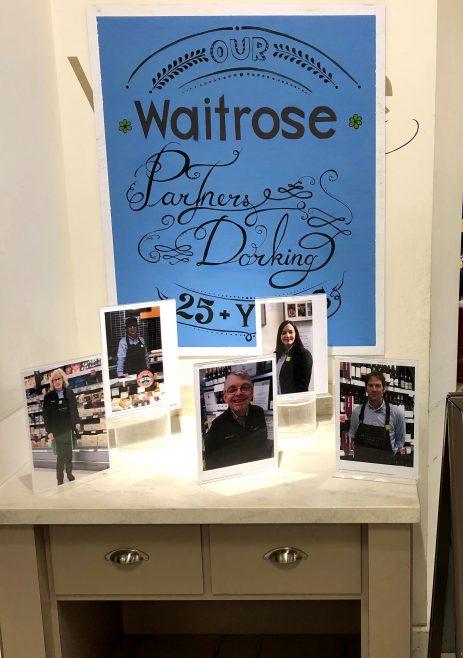 Waitrose Dorking 60th Anniversary