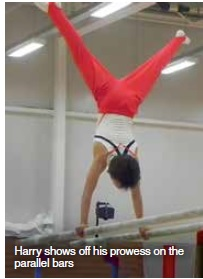 St Ives helps aspiring gymnast