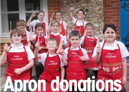 Apron donations