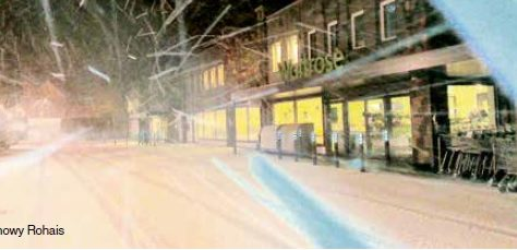 Snow reaches Channel Isle