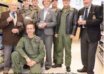 Tea time with the RAF