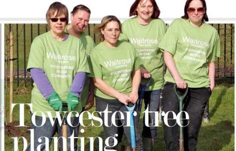 Towcester tree planting