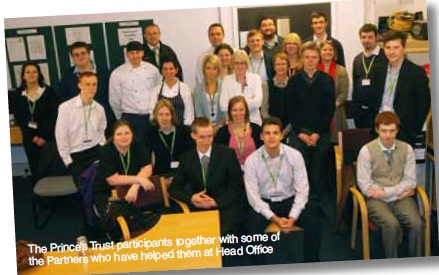 Prince's Trust comes to Head Office