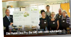 Saxmundham helps cafe' to smile