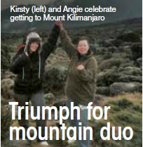 Triumph for mountain duo