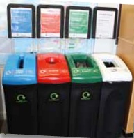 New recycle bins