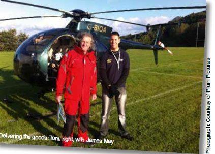 High flier Tom delivers