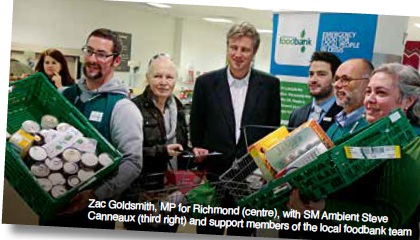 Foodbank launch wins local support