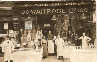 190 Acton Lane, 1914 | John Lewis Partnership Archive collection