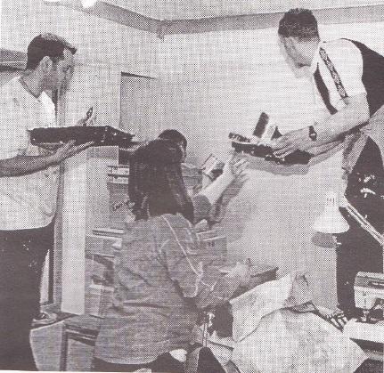 Simon Searing, Alison McCreery and Jason Hindle