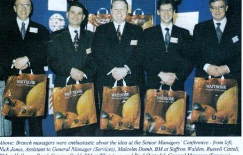 Waitrose 'BAG FOR LIFE'
