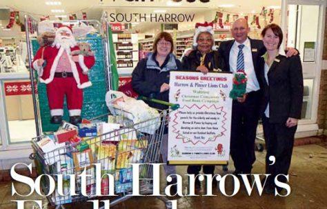 South Harrow's Foodbank success
