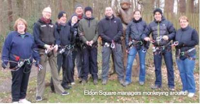 Tree-mendous team day