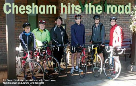 Chesham hits the road