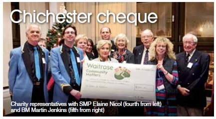 Chichester cheque