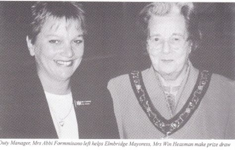 Mayoress picks winner