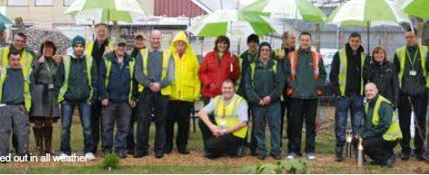 Aylesford transforms garden