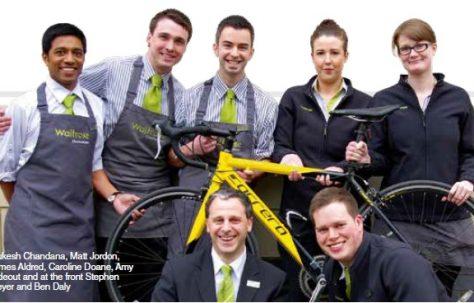 Cheltenham bikers