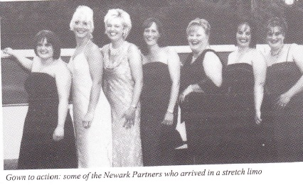 Ladies of Neward have a ball