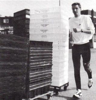 A marathon run for charity