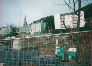 Image of the main building site, January 1999 | Courtesy Malvern Museum