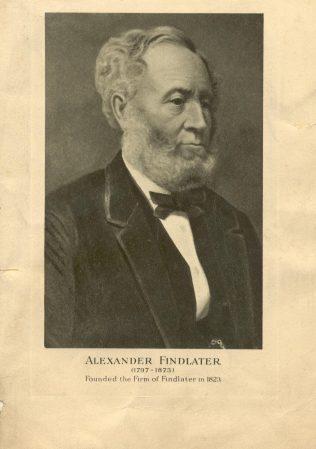 Alexander Findlater c1850 | John Lewis Partnership archive collection