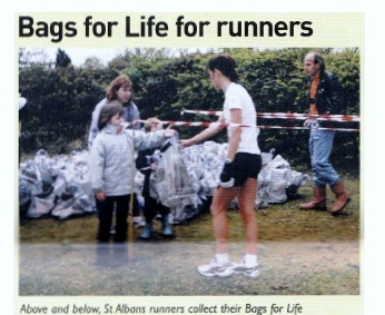 Bags for Life for runners