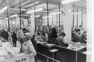Barnet supermarket interior 1970   John Lewis Partnership archive collection
