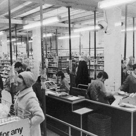 Barnet supermarket interior 1970 | John Lewis Partnership archive collection
