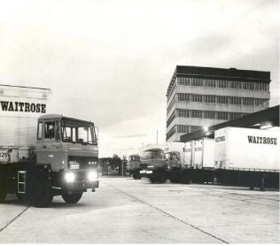 First lorries at Bracknell 1974 | John Lewis Partnership Archive Collection