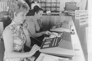 Bracknell Switchboard 1972 | With achnowledgement of the John Lewis Partnership Archives