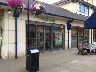Little Waitrose Chippenham customer entrance | Store Planning Photo Library