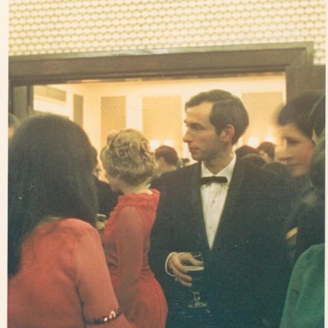 David Ramsey at a Gloucester Road social occasion c1967 | John Lewis Partnership archives
