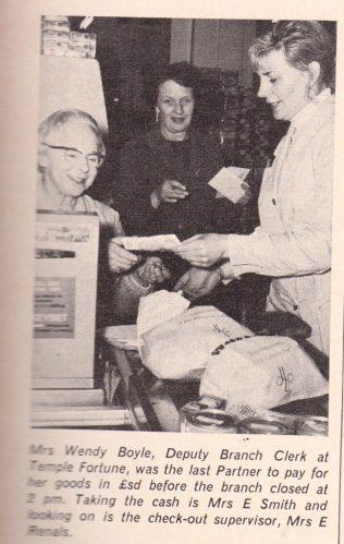 Pre-decimilisation in action at Temple Fortune 1971   The Gazette