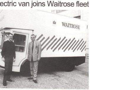 Electric van joins Waitrose fleet