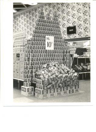 Epsom interior bean stacks c1960 | John Lewis Partnership archives
