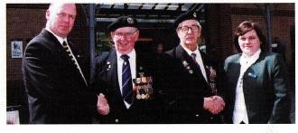 Folkestone helps veterans