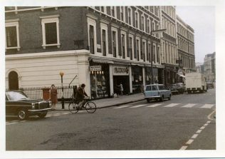 This view was taken after the Budgens on the corner became the Wine Department and looks down Gloucester Road towards the Tube Station. | Author
