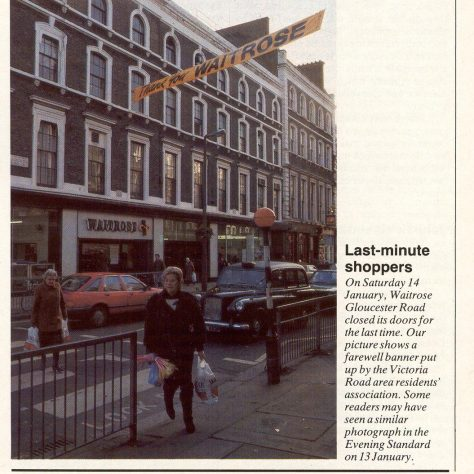 Gloucester Road closure 1989 | The Gazette