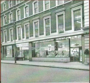The shop unit just out of sight to the far left of this photo was originally a Budgens and became the Waitrose Wine dept in the late 60's | Archives