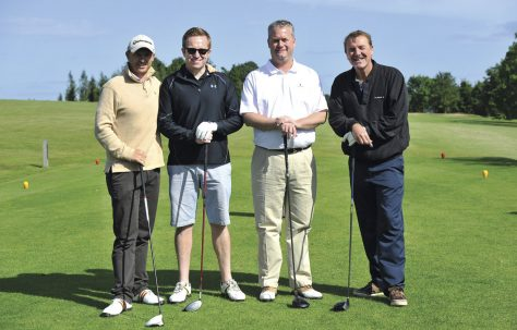 Golf days raise money for Caravan and Age UK