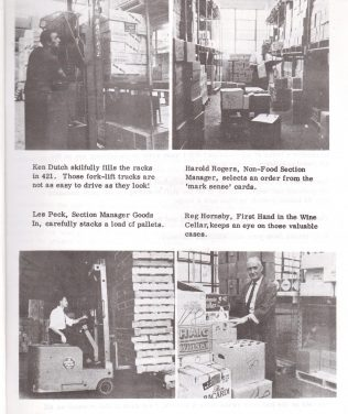 Greenford warehouse and Partners 1969 | Waitrose Chronicle
