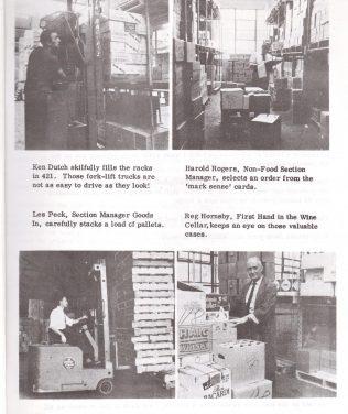 Greenford warehouse and Partners 1969 | Waitrose Chronicle
