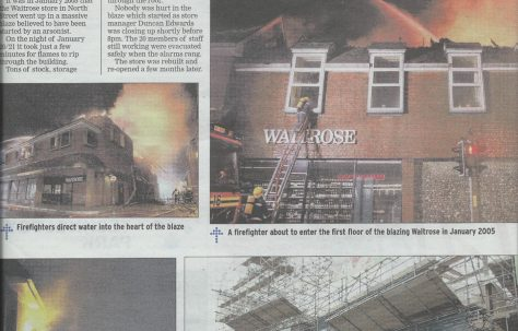 Fire at Havant and the rebuild