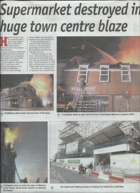 The story in the press ten years on | The News, Portsmouth